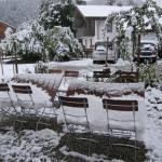 Der erste Schnee am 10.10.13
