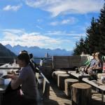 Rohrkopfhütte Terrasse 2