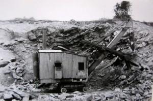 Schienendampfbagger 53
