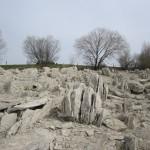 Steinbruch wie antike Stätten