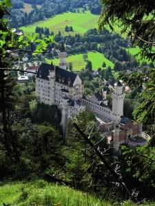 Bergtour mit Schlossblick
