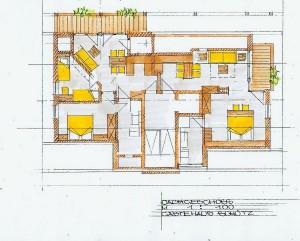 Dachgeschoss Plan
