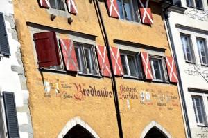 Alte Häuser in Lindau