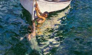 Sorolla Das weiße Boot 1905